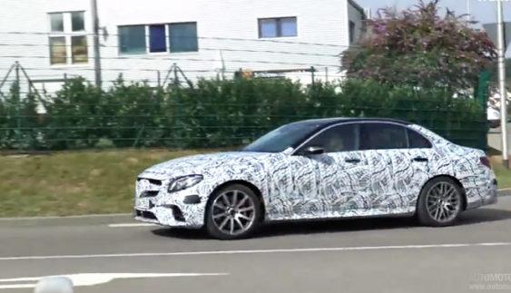 Новий Mercedes-AMG E63 виїхав на тести