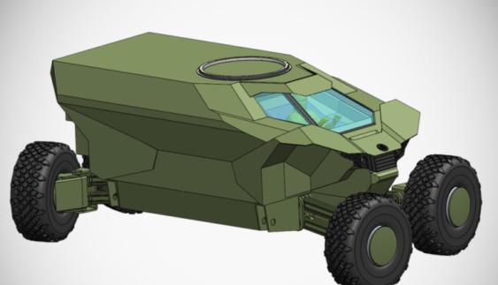 В Україні представили лінійку бронетехніки майбутнього (Фото)