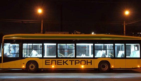 Як львівський тролейбус «Електрон» не пройшов найпростіше випробування (Відео)