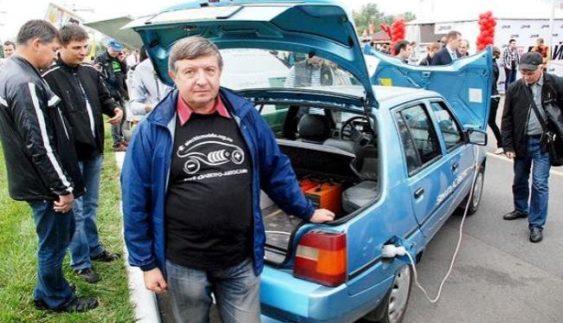 "Продемонстрували електричну ЗАЗ-1103 ""Славута"" (Фото)"