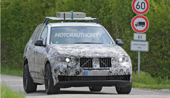 Кросовер BMW X5 2018 сфотографований на випробуваннях