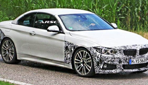 Показали зовнішність оновленого кабріолета BMW 4-Series (Фото)