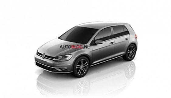 У Мережу потрапили фото нового Volkswagen Golf