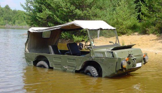 ЛуАЗ-967 – успішна амфібія луцького автозаводу