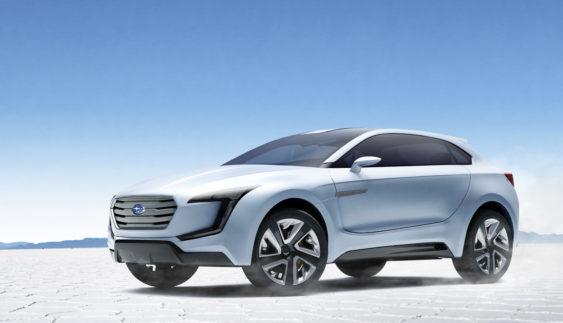 Subaru побудує електричний кросовер (Фото)