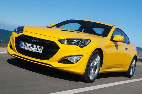 Hyundai завершує виробництво моделі Genesis Coupe