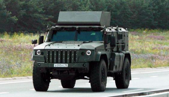 KaмA3 розробляє броньований позашляховик для десантників (Фото)