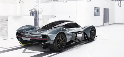 Британський Aston Martin розробляє конкурента Ferrari 488