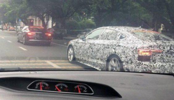 На тестах помітили новий Audi A5 Sportback 2017