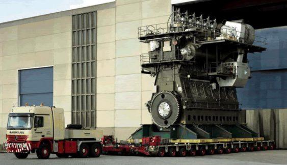 Як виглядає найбільший в світі дизельний двигун (відео)