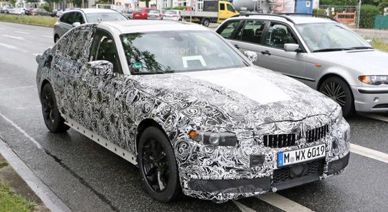 BMW 3-series наступного покоління помічена під час тестів (Фото)