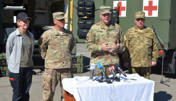 США передали Збройним силам України нові автомобілі (Фото)