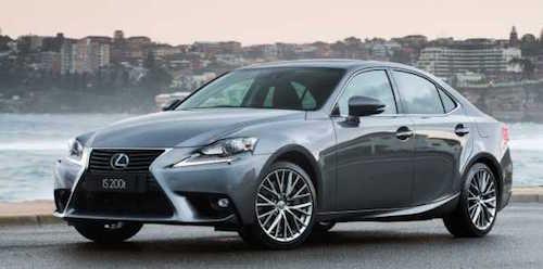 Компанія Lexus продала 1 мільйон примірників седана IS