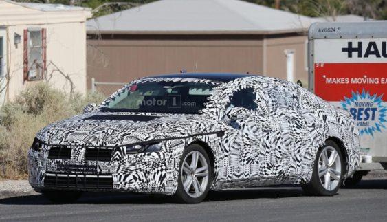 З'явилися фотографії нового Volkswagen Passat CC