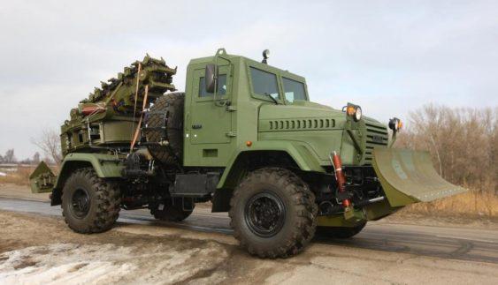 КрАЗ презентував нову броньовану машину (Фото)