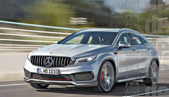 Новий Mercedes-Benz GLA: розкриті перші подробиці