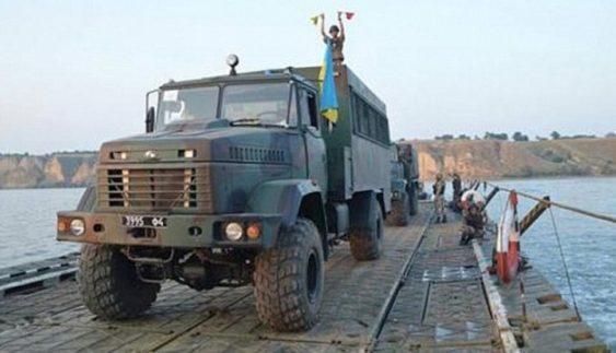 Нові КрАЗи беруть участь в масштабних військових навчаннях