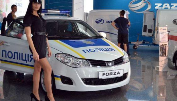 Поліцейські отримали перші ЗАЗи