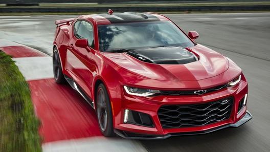 Компанія Chevrolet збільшила потужність мотора на Camaro ZL1