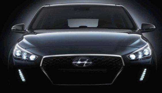 Компанія Hyundai показала дизайн нового i30