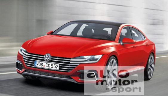 Перші подробиці про новий Volkswagen Passat CC (Фото)