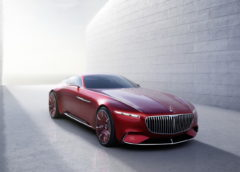 Мега-купе Mercedes-Maybach розсекретили в мережі (фото)