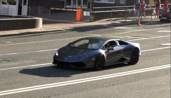 Неймовірно дорогий Lamborghini Huracan вперше засвітився в Україні (Фото)