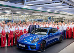 Porsche завершив виробництво Panamera