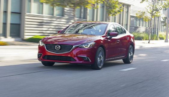 Представлена оновлена Mazda 6 (Фото)