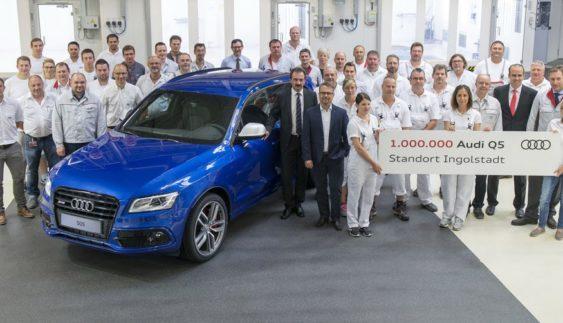 Audi відзначає мільйонний випуск свого бестселера Q5 (Фото)