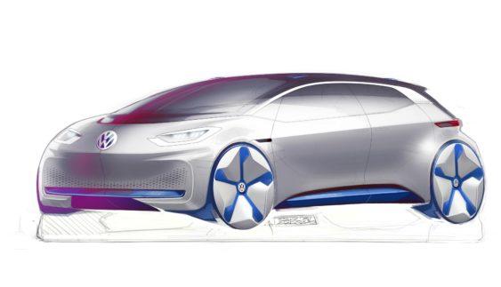Електрокар Volkswagen нового покоління: перші зображення