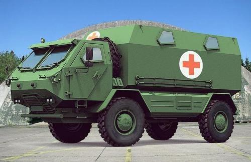 Україна може випускати власну армійську вантажівку 4х4 (Фото)