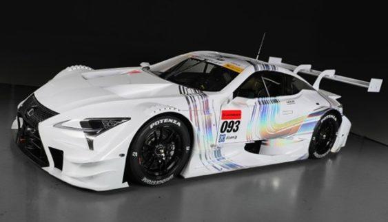 Lexus представив новий гоночний автомобіль