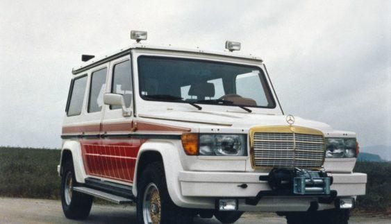 """Як виглядав перший Mercedes """"Гелендваген"""" від AMG (Фото)"""