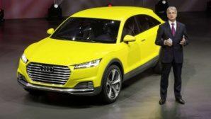 Audi випустить компактний кросовер на основі моделі TT