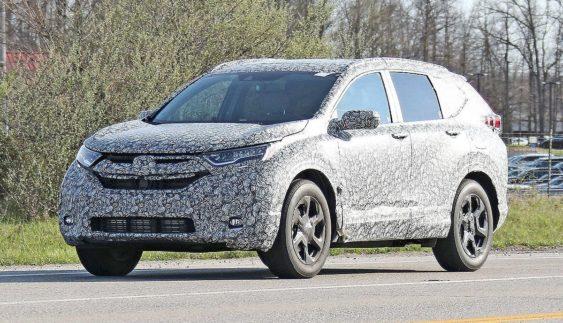 У Мережу потрапив знімок нового кросовера Honda CR-V