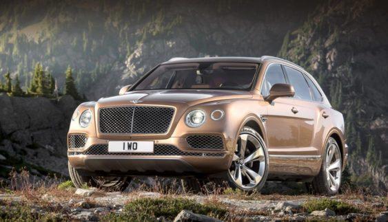 Представлений дизельний кросовер Bentley Bentayga