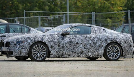 На тестах помічена нова BMW 8-Series (Фото)