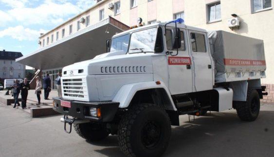 КрАЗ випустив новий аварійно-рятувальний автомобіль (Фото)