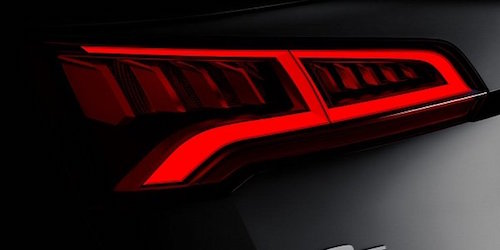 Audi опублікувала тизер нового кросовера Q5