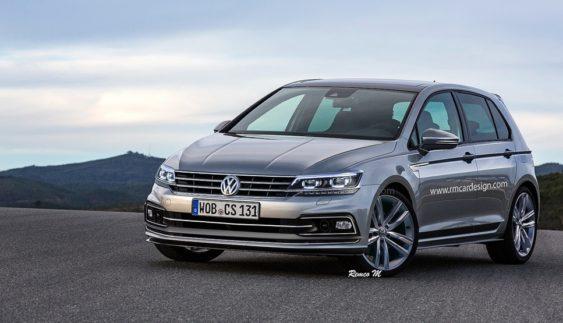 Розсекретили Volkswagen Golf нового покоління