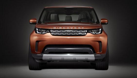 Повністю новий Land Rover Discovery: перше офіційне фото