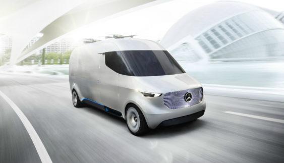 «Мерседес» розробив комерційний фургон майбутнього (Фото)