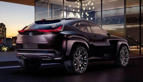 Опубліковано перше зображення нового кросовера Lexus UX