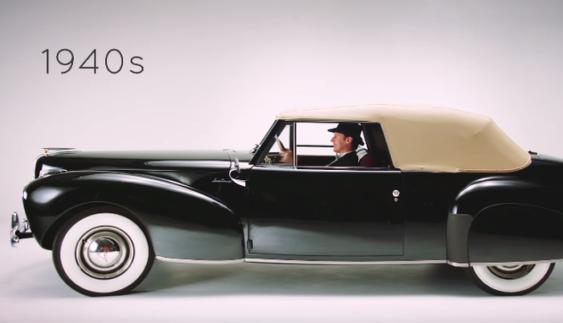 Експерти показали еволюцію розкішних автомобілів за 100 років (Відео)