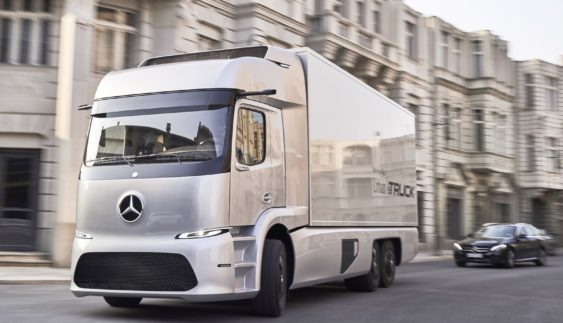 Mercedes-Benz представив електричну вантажівку майбутнього (Фото)