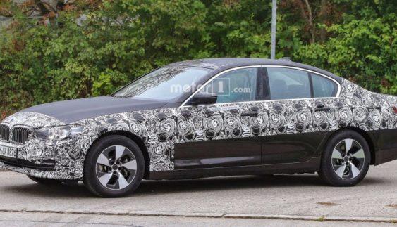 Новий BMW 5 майже готовий (Фото)