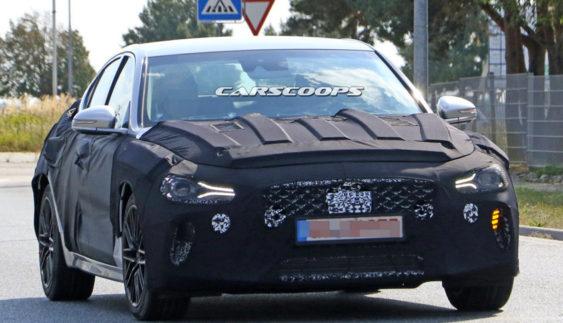Hyundai тестує серйозного конкурента BMW 3-Series (Фото)