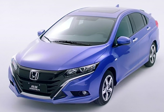 Honda-Gienia-front-three-quarters-left-side