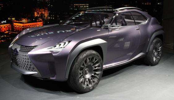 Lexus представив маленький кросовер UX (Фото)